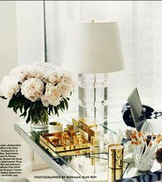 elegant desk set.