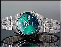 BRIGHT | Rakuten Global Market: Seiko/SEIKO5 automatic volume mens watch metal belt green character Edition SNK543K1 (overseas model)