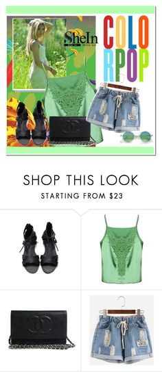 """""""SHEIN CONTEST"""" by albinnaflower ❤ liked on Polyvore"""