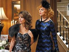 I wish we all had a reason to get fabulously dressed every single day like they do in the soaps!
