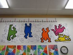 Do Art!: Keith Haring Mural Art Project