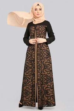 gamis Batik Fashion, Abaya Fashion, Women's Fashion Dresses, Batik Long Dress, Long Gown Dress, English Dress, Dress Pesta, Muslim Women Fashion, Abaya Designs
