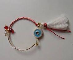 Αποτέλεσμα εικόνας για βραχιολια μαρτη Bangles, Bracelets, Handmade Accessories, Tassel Necklace, Boho Fashion, Charmed, Personalized Items, Beads, Olympia