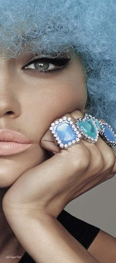I really like this for a color palette: Rose quartz, Serenity, Mint and egg shell. With the logo I'm leaning towards something that can take on different color palettes depending on the season or the collection within the line. It gives you room to grow and certainly is a marketing tool. We can talk more about this later.  Gigi Hadid by Steven Meisel