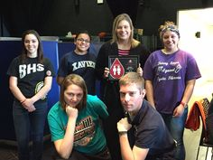 High Five to Botkins High School - celebrated as a Red Cord Honor School for 2015 at Monday's blood drive!
