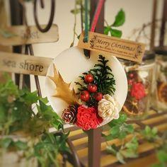 クリスマス気分が上がるアロマワックスバー ラウンド