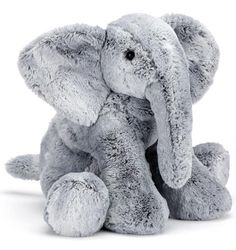 Soft toys from Jellycat never fail to delight, and with good reason too. Made from super soft plush and featuring an adorable, friendly face, the Jellycat Sweetie Fox is impossible to resist. Perfectly sized for little ones to cuddle and hold, she is sure Elephant Love, Elephant Nursery, Elephant Stuff, Snow Tiger, Jellycat, Minion, Kobe, Cuddling, Little Ones