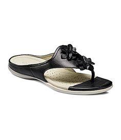 newest collection cb4ad 3c236 Ecco Flash Flower FlipFlop Sandals  Dillards
