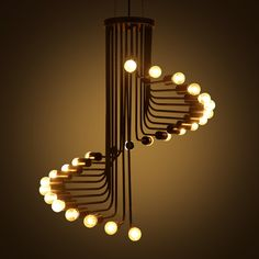 Modern Loft Black Pendant Lamps