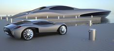 super-yacht comes with its own supercar which can be stored on board. 21.6 Million only..