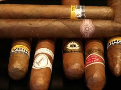 there's a Perdomo hiding in there among the Cubans and the Davidoff
