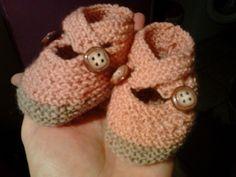 Chaussons pour la sortie de la maternité