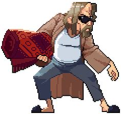 The Pix Lebowski Pixel Artist: Spiddrelli Source: forums.tigsource.com (1 / 2)