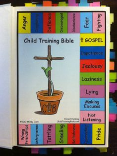 Child Training Bible - review on Bible program and free printable