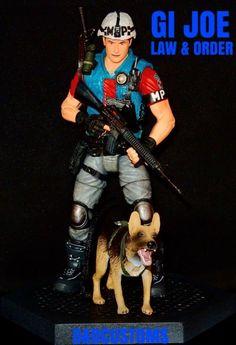 """Gi Joe Law & order 6"""" 1:12th Scale (G.I. Joe) Custom Action Figure [CUSTOM GI JOE LAW & ORDER STYLE 6"""" INCH 1:12th]"""