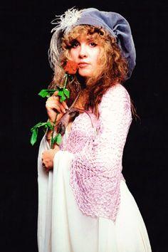 """crystallineknowledge: """"""""Stevie Nicks photographed by Herbert Worthington in 1981 """" """""""
