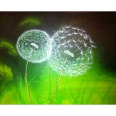 Dandelion puffs. Repinned from Christina Jutte via Jill Nordstrom-Perry.