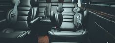 Heated & fully reclining captain chairs