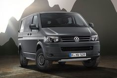 Volkswagen Transporter takes to the hills with the Rockton 4Motion