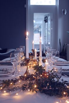 Tablesetting / julebord