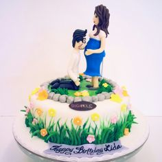 For a mommy to be! www.facebook.com/Sugaholic.Cakes
