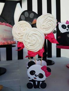 Panda Themed Party, Panda Birthday Party, Panda Party, Bear Party, Birthday Fun, Birthday Parties, Baby Shower Centerpieces, Baby Shower Decorations, Panda Baby Showers