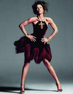 Raquel Zimmermann by Inez & Vinoodh for Vogue Paris November 2011