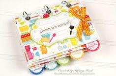 Other: Recipe Book Mini Album *Doodlebug Design*