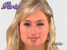 Max Head Paris Hilton - 3D Model