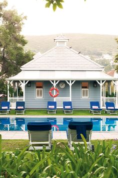 The lounger-dotted outdoor pool comes with spectacular Table Mountain views. #Jetsetter Belmond Mount Nelson Cape Town, South Africa