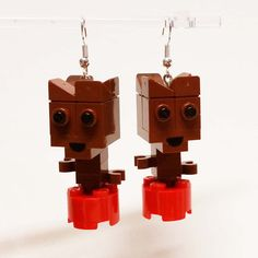 Baby Guardian Earrings by FoldedFancy on Etsy Lego Jewelry, Lego System, Lego Group, Baby Groot, Lego Models, Marvel Fan, Traveling With Baby, Guardians Of The Galaxy, Etsy Earrings