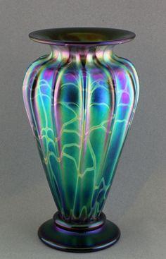 Atlantis Green Vase - Stuart Abelman