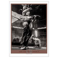 Edge - From The Ground Up: Music Edition-Photo by Ralph Larmann The Edge U2, Running To Stand Still, Achtung Baby, Paul Hewson, Irish Rock, Tour Merch, From The Ground Up, End Of The World, Classic Rock