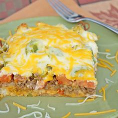 John Wayne casserole is cozy comfort food at its best. You're going to love the Southwestern flavor of this hearty family classic. This is one of my favorite easy ground beef recipes! COOKING METHOD First, preheat your oven to Think Food, I Love Food, Good Food, Yummy Food, Tasty, Yummy Yummy, Delish, Yummy Taco, Beef Casserole Recipes
