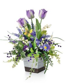 Flowers spring arrangements florists 39 Ideas for 2019 Spring Flower Arrangements, Silk Floral Arrangements, Artificial Flower Arrangements, Beautiful Flower Arrangements, Floral Bouquets, Artificial Flowers, Bridal Bouquets, Ikebana, Deco Floral