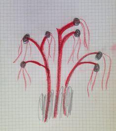 5 pinturas / 2 minutos para pintar flores