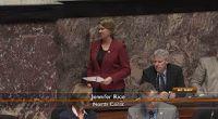 October 1 -- MLA Rice raises issue of missing data in Legislature session