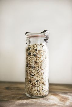 Homemade Muesli For Breakfast In A Jar Recipes — Dishmaps