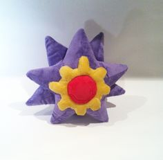Starmie Plush by Jellystitch on deviantART