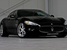 Maserati Granturismo w Custom Wheels | Flickr - Photo Sharing!