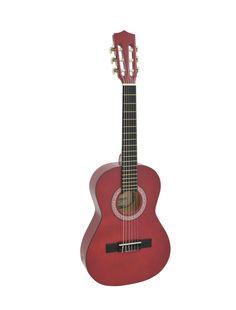 Dimavery AC-303 klasická kytara 1/2, červená