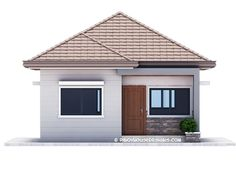 Simple 3-Bedroom Bungalow House Design - Pinoy House Designs - Pinoy House Designs
