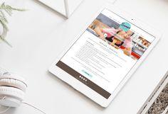 Website Design | Graphic Design | Ice Cream Store