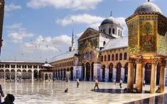 The Umayyad Mosque الجامع الاموي ! Umayyad Mosque, Grand Mosque, Islamic Architecture, Old City, Damascus, Once Upon A Time, Taj Mahal, Old Things, Around The Worlds