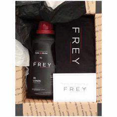 Frey: Premium laundry detergent for men starter kit. Smell like a gent…