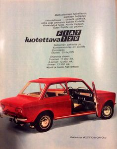 1971 Italy Spain, Good Old Times, Vintage Ads, Cars, Vehicles, Historia, Rolling Stock, Autos, Vehicle