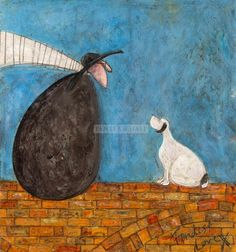 2015 Fondest Love by Sam Toft (b1964; Staffordshire, a landlocked county in the West Midlands of England)