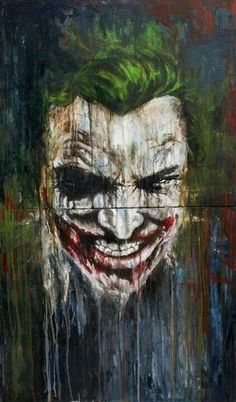 Joker images pics photo we have shared best joker images in hd wallpapers for android and all os. joker is evil character in batman movies and love very Joker Batman, Joker Art, Superman, Joker Cartoon, Funny Joker, Der Joker, Joker Und Harley Quinn, Gotham, Comic Books Art