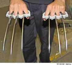 Wolverine Claws. Yes I want that.