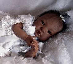 reborn doll artists entries for Africian American and Bi-racial baby contest. Dolls have been made by members of the baby banter reborn doll forum